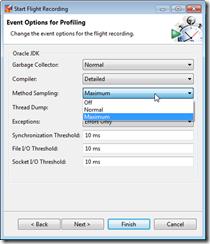 MethodSamplingSettings