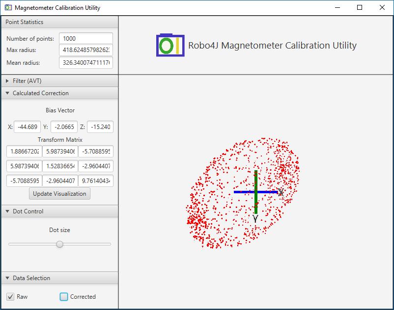 Magnetometer Calibration in Robo4J – Marcus Hirt